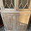 Thumbnail: Georgian Style Limed  Display Corner Cabinet With Cupboard