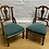 Thumbnail: Elegant Pair Of Edwardian Nursing Chairs / Occasional Side Chairs