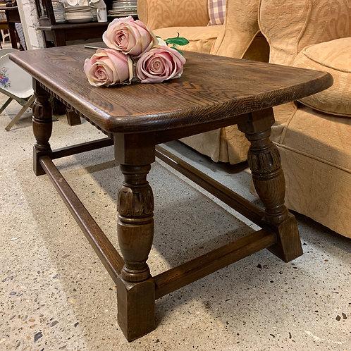 Traditional Vintage Oak Coffee Table