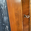 Thumbnail:  Traditional Reproduction Yew Wood Veneer Display Corner Cabinet With Cupboard