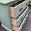 Thumbnail: Sage Green Painted Small Edwardian Three Drawer Chest Of Drawers