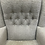 Thumbnail: Very Comfortable Vale Wingback Armchair With Button Back Detail