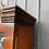 Thumbnail: Beautiful William & Mary Style Walnut Veneer Bureau Bookcase
