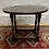 Thumbnail: Small Traditional Oak Drop Leaf / Twist Top Occasional Table / Coffee Table