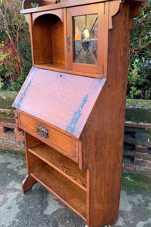Charming Art Nouveau Escrtoire Writing Bureau
