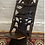 Thumbnail: Unusual African Carved Feature Thrown Chair / Seat