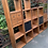 Thumbnail: Set Of 5 Interchangeable Hardwood Cube Storage Shelves With Drawers & Baskets