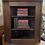 Thumbnail: Small Traditional Old Oak Corner Shelf Display Cabinet