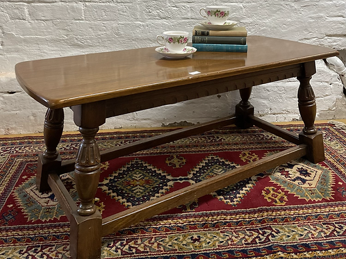 Traditional Solid Oak Coffee Table