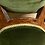 Thumbnail: Elegant Victorian Walnut Frame Spoon Back Armchair With Jewel Green Upholstery