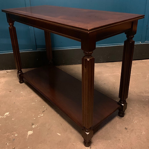 Two Tier Hallway Console Table