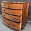 Thumbnail: Large Handsome Victorian Bow Fronted Mahogany Veneer Chest Of Drawers