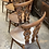 Thumbnail: Set Of 4 Vintage Ercol 375 Bow Top Windsor Dining Chairs With Pads