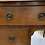 Thumbnail: Vintage Mahogany Ledge Back Kneehole Writing Desk