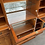 Thumbnail: Fantastic Large Breakfront Reproduction Yew Wood Display Dresser / Show Cabinet