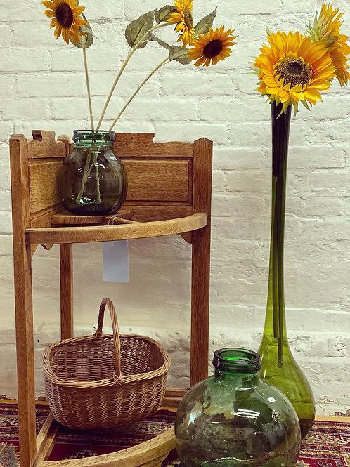 Lovely Vintage Arts & Crafts Style Corner Umbrella Stick Stand