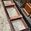 Thumbnail: Edwardian Inlaid Triple Compactum Wardrobe
