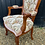 Thumbnail: Elegant French Style Bedroom Armchair With Tapestry Upholstery