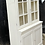 Thumbnail: Pretty Vintage Painted Glazed Display Dresser / Cabinet