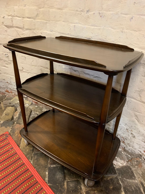 Traditional Vintage Ercol Windsor Three Tier Trolley 458