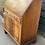 Thumbnail: Reprodux Mahogany & Veneer Slope Front Writing Bureau Desk With Cupboard
