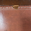 Thumbnail: Vintage Queen Anne Style Kneehole Writing Desk With Leather Top
