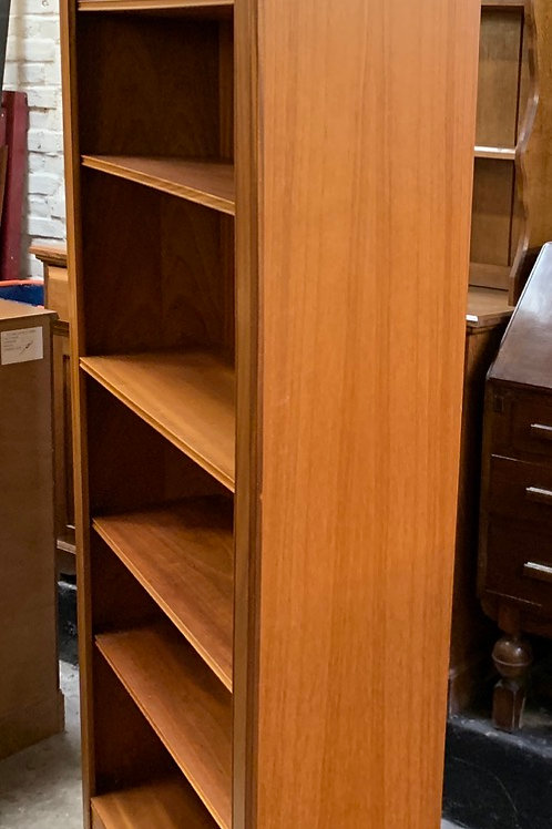 Traditional Tall Open Bookcase