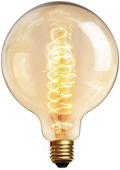 Squirrel Cage Edison Globe 120mm 60w E27