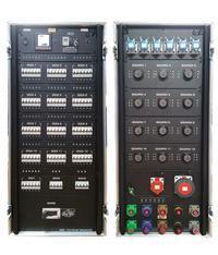 P/Lock 400a Distro Board - x1 PLock, x12 Soca, x6 16a 1Ø (Distro H)