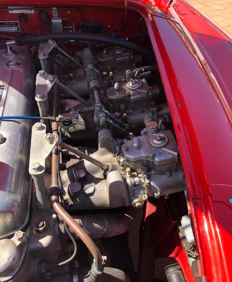 AUSTIN HEALEY 3000 MK2 ENGINE