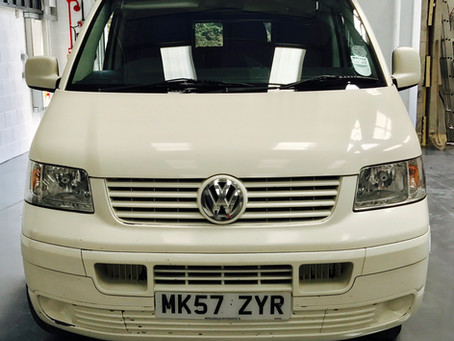 Introducing Florence - VW T5.1 Facelift