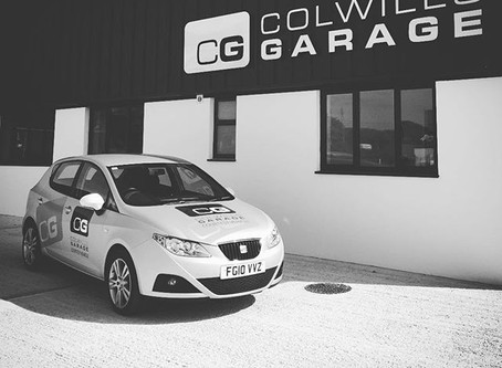 Colwills Garage - A Little History
