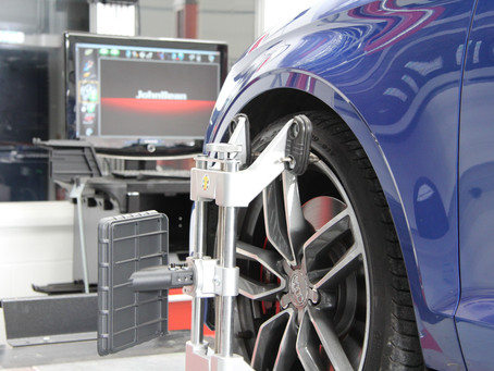 Computerised Wheel Alignment