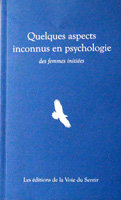 QUELQUES ASPECTS INCONNUS EN PSYCHOLOGIE