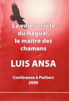 LUIS ANSA - CONFÉRENCE A POITIERS - 2009 - DVD