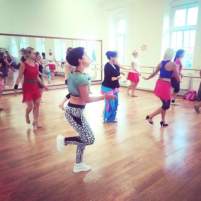 24.10 kubánský workshop - ladies styling  salsa, reggaeton, merengue