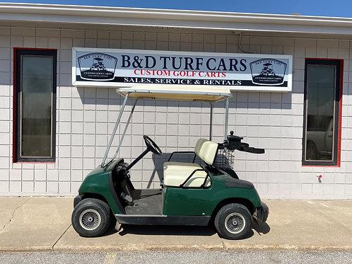 Green Yamaha Golf Cart