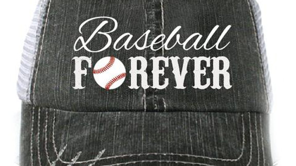 Baseball Forever Trucker Hat