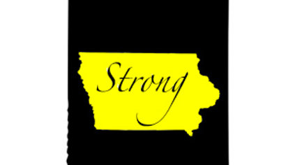 Iowa Strong Koozies