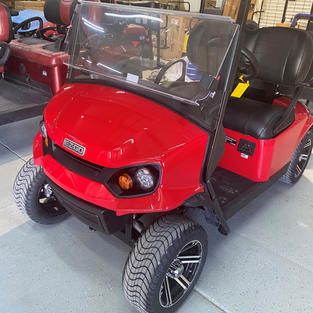 2022 EZGO Express S4 Flame Red
