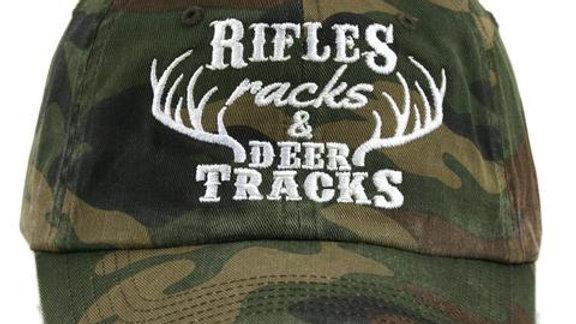 Rifles Racks & Deer Tracks Hat