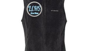 Columbia Vest - LCHS Cheer Mom logo
