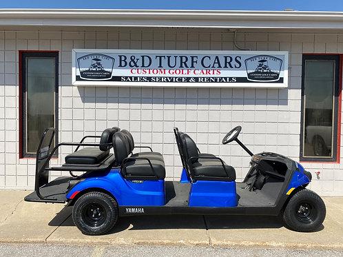 2021 Blue Yamaha Golf Cart