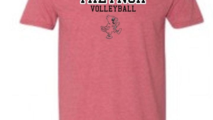 Red Treynor Volleyball Tshirt