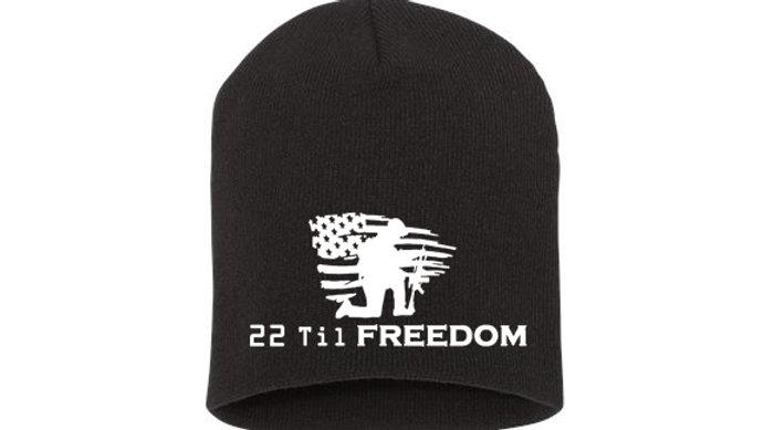 22 Til Freedom Beanie