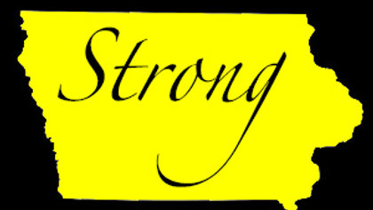 Iowa Strong Car Decals