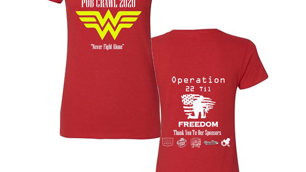 Superhero Pub Crawl Shirt