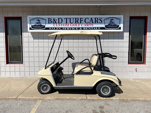 Tan Club Car