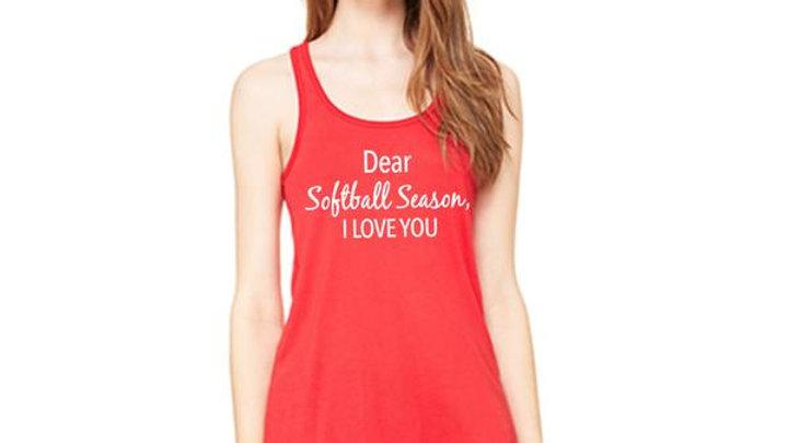 Dear Softball Season I Love You