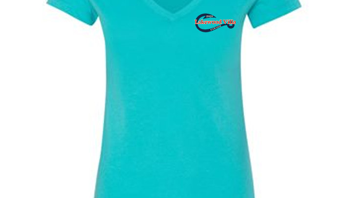 Ladies VNeck Parade Tshirt